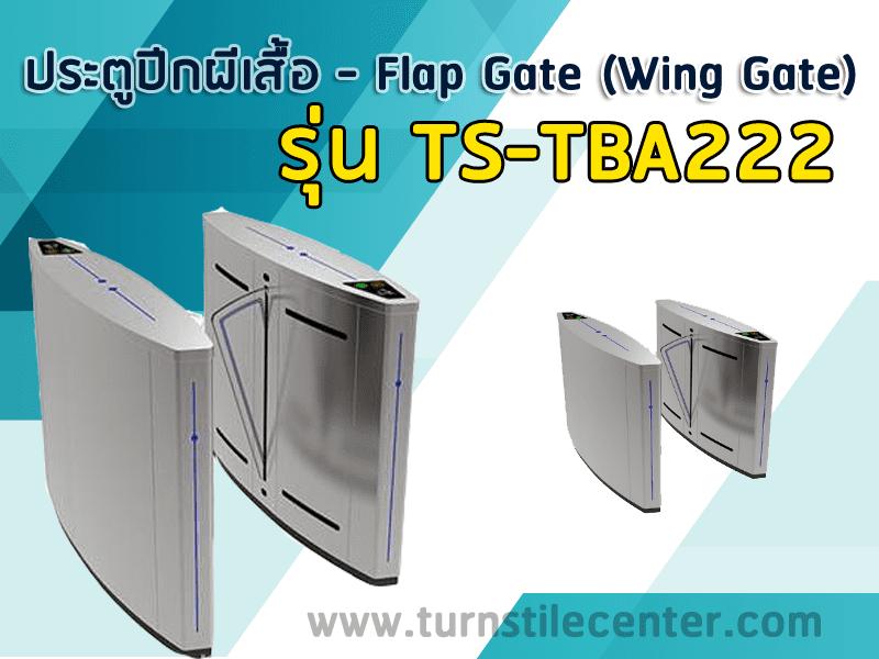 ประตูปีกผีเสื้อกั้นคนเข้าออก รุ่น TS-TBA222