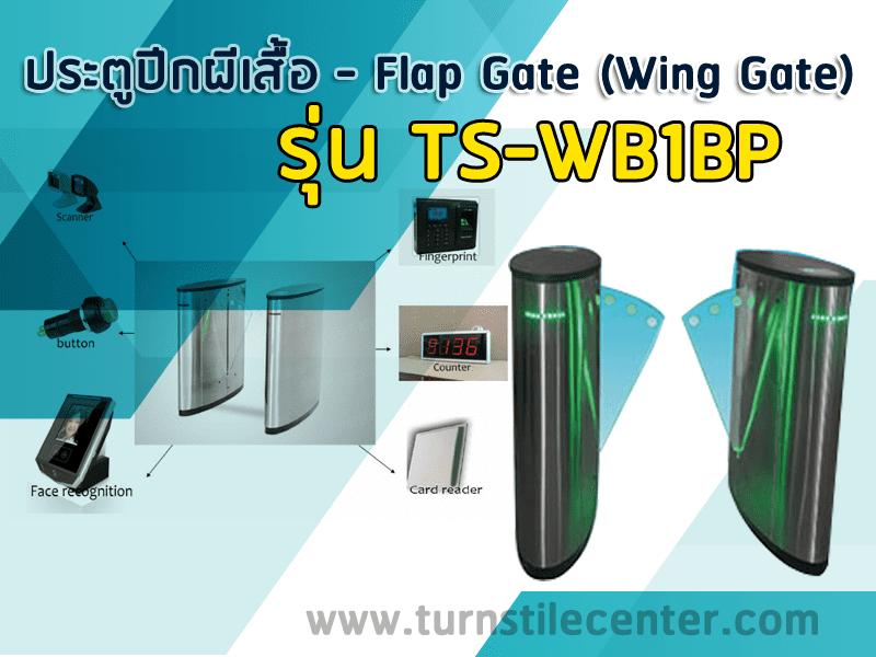 ประตูกั้นทางแบบปีกผีเสื้อ FLAB BARRIER รุ่น TS-WB1BP