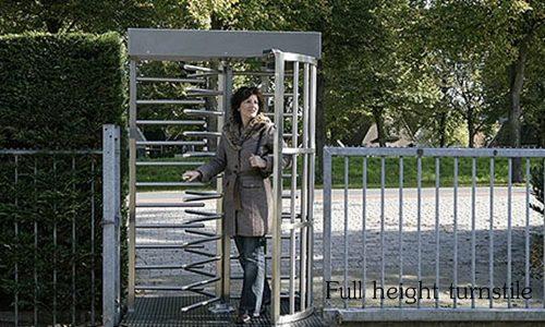 ฟังก์ชั่นการทำงาน ประตูกั้นคนแบบ full height turnstile